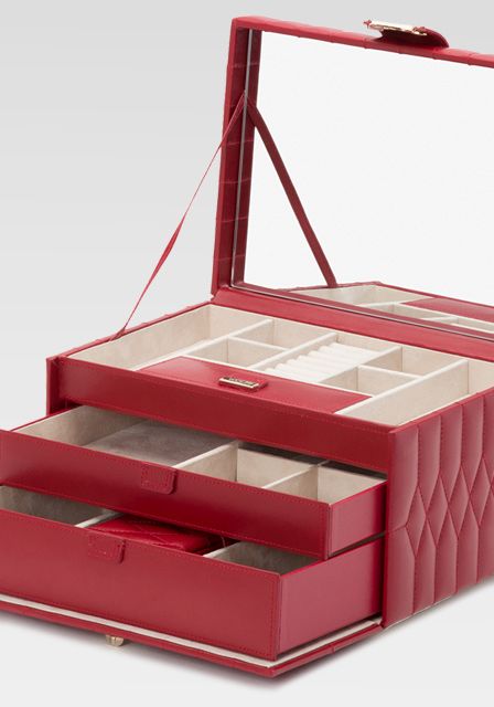 Wolf Jewellery Box